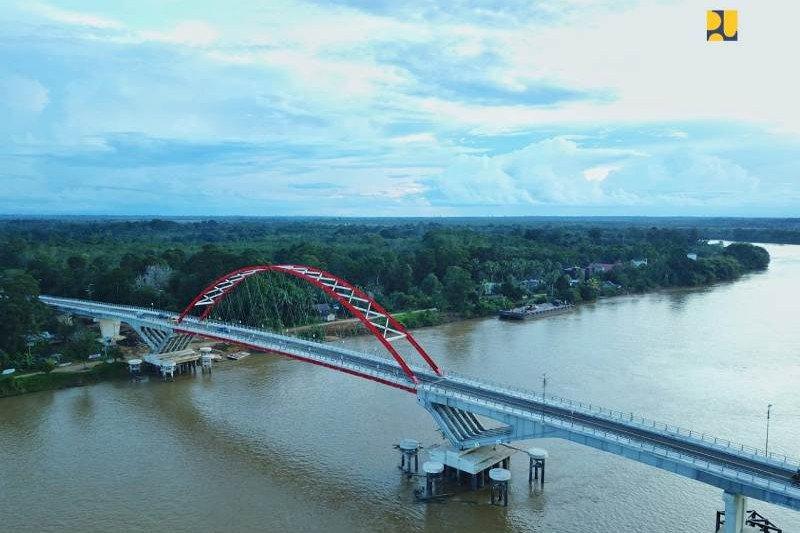 PUPR sebutkan Jembatan Tumbang Samba tingkatkan ekonomi masyarakat