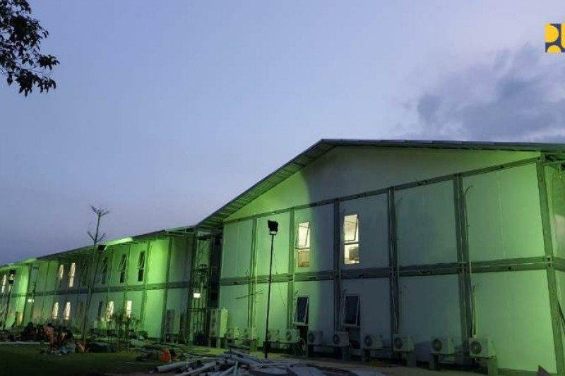 Kementerian PUPR: Konstruksi RS Darurat Pulau Galang sudah mencapai 92 persen