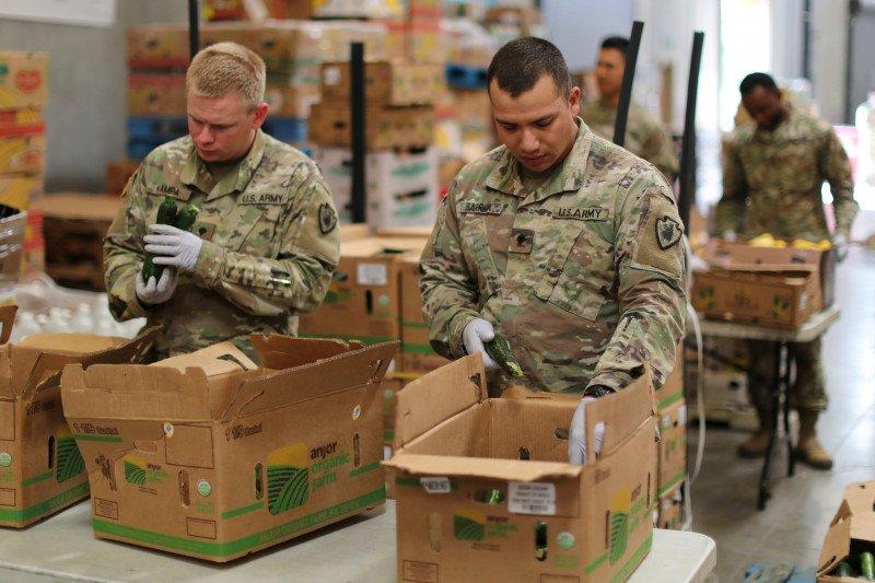 Pertama, anggota dinas militer AS meninggal akibat virus corona