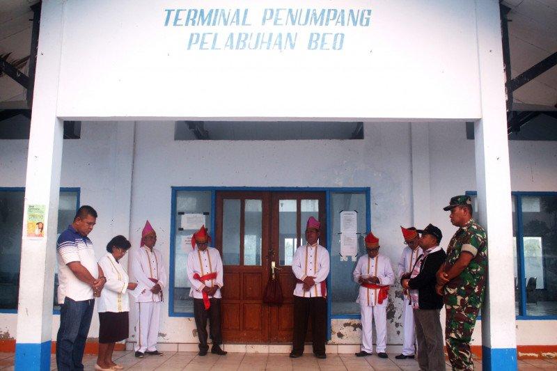 Tetua adat Beo Talaud gelar ritual tolak bala COVID-19
