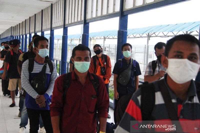 Diskominfo: 4.444 TKI dari Malaysia pulang  melalui  Riau