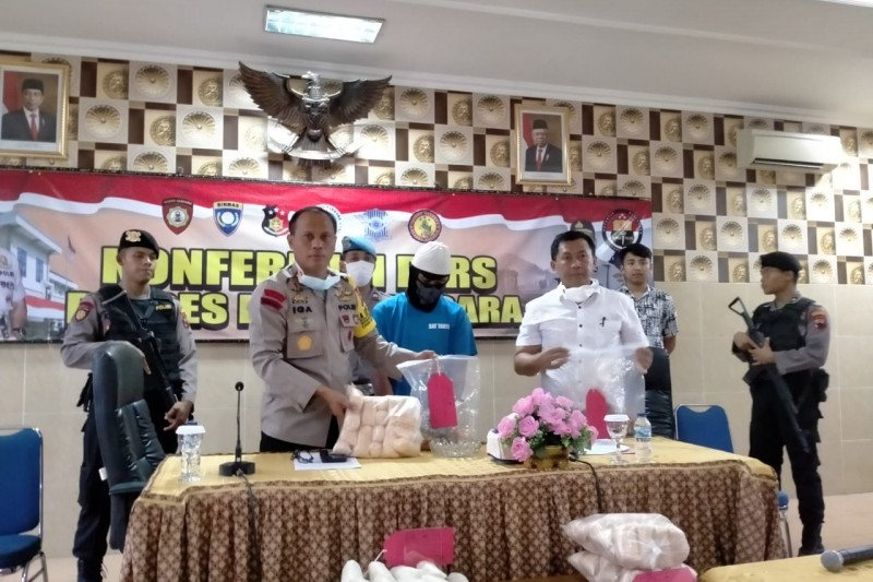 Pengoplos gula rafinasi di Banjarnegara ditangkap