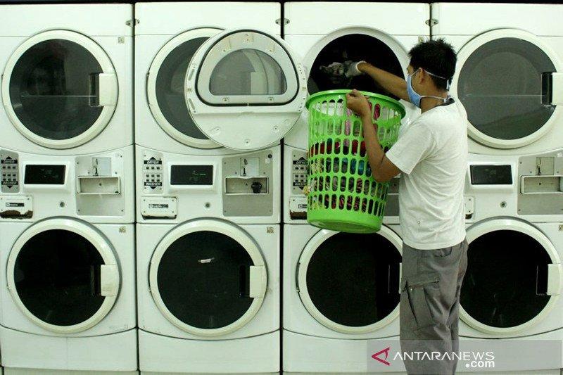 Jasa laundry terdampak Covid-19 di Makassar