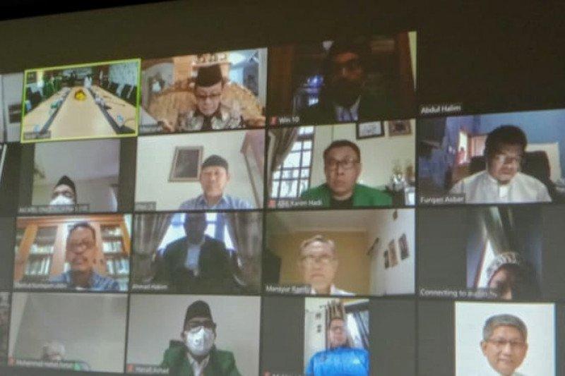 Rektor UMI Makassar Lantik tiga dekan lewat daring