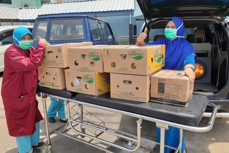 GGF kirim buah dan susu untuk tenaga medis