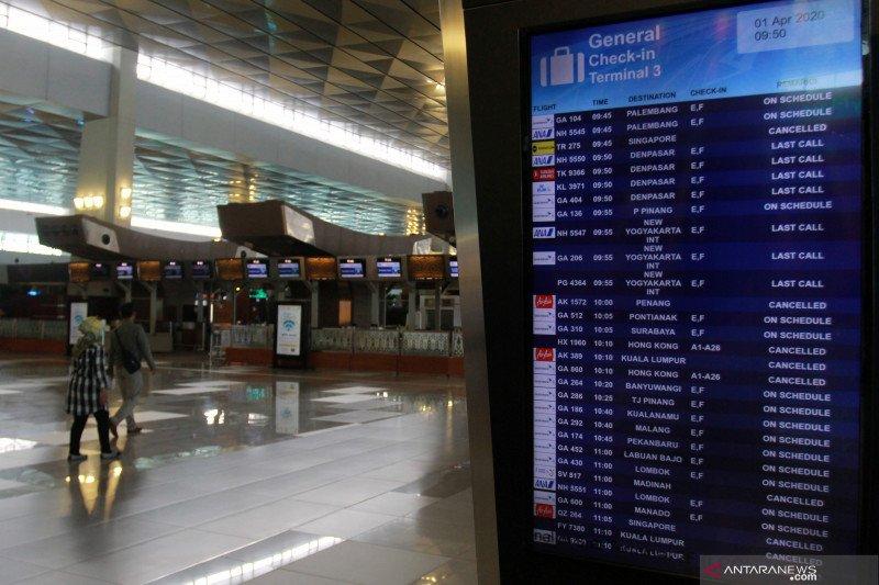 Bandara Soetta tutup penerbangan komersial sampai 1 Juni - ANTARA News