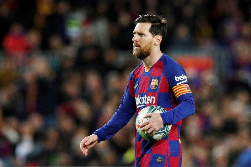 Lionel Messi membantah akan pindah ke Inter Milan