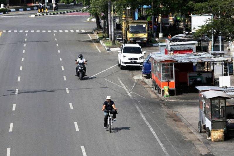 Banda Aceh Lengang Akibat Dampa COVID-19