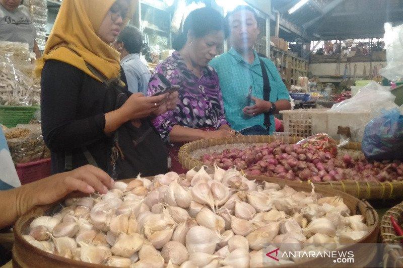 Bahan pangan  berkontribusi pada inflasi Maret 2020 di Surakarta