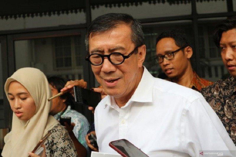 Menkumham Yasonna bantah loloskan napi korupsi