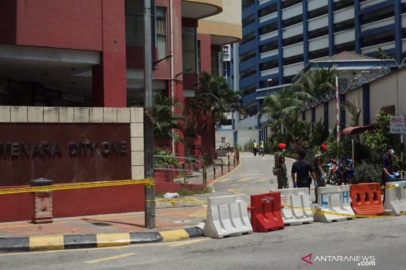 13 WNI diisolasi di Apartemen Menara City One Kuala Lumpur