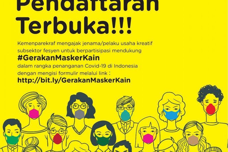 Disainer lokal diajak ikut gerakan masker kain