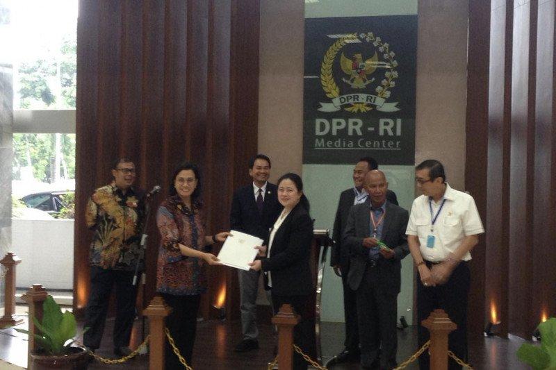 Menkeu serahkan Perppu Stabilitas Keuangan ke DPR