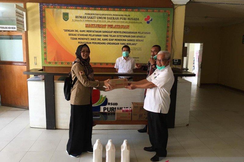 Lawan COVID-19, Apotik Gemilang Farma serahkan bantuan untuk RSUD Puri Husada Tembilahan