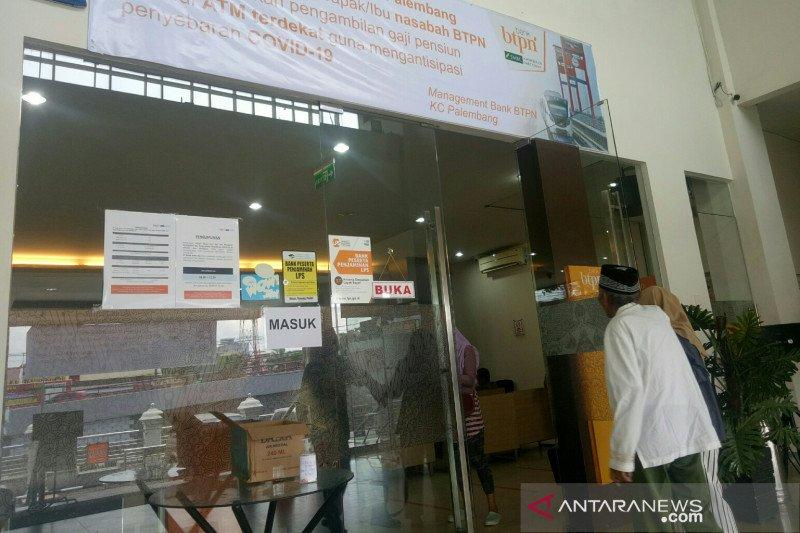 Penarikan dana pensiun di BTPN Palembang lewat ATM meningkat