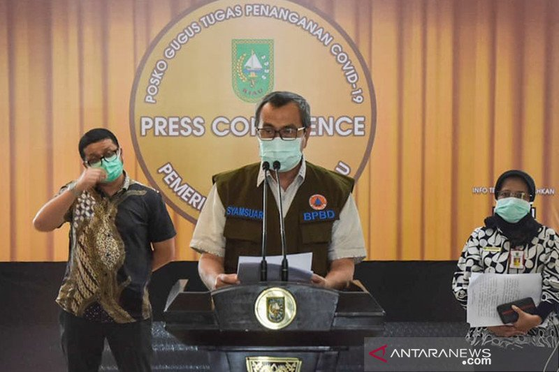 Pasien positif COVID-19 melejit, Gubernur Riau tetapkan status tanggap darurat