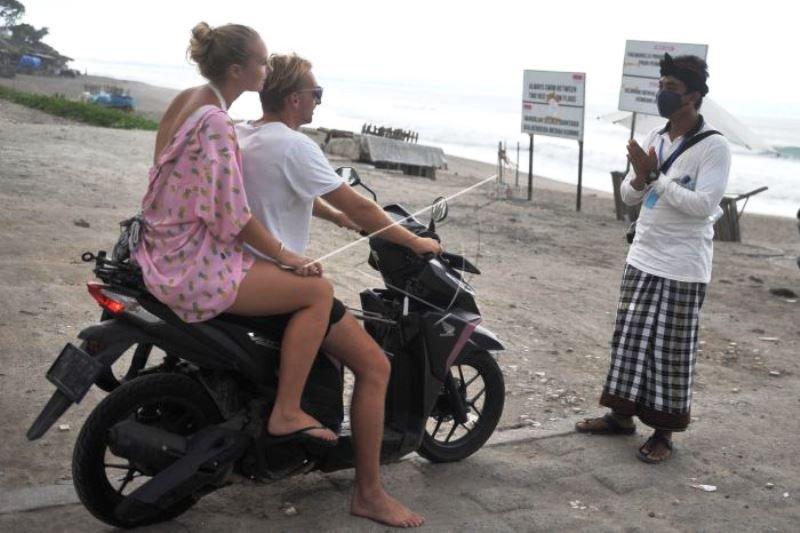 Penutupan Objek Wisata Bali Diperpanjang