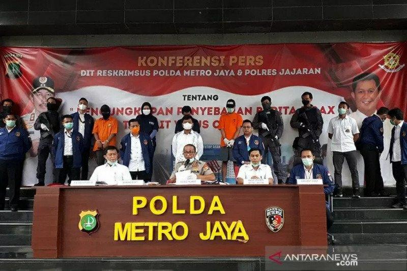 Ditangkap, pembuat hoaks penutupan jalan di Rawa Bokor