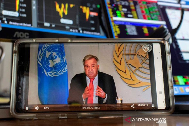 PBB berencana salurkan 3 miliar dolar AS untuk pemulihan akibat COVID-19