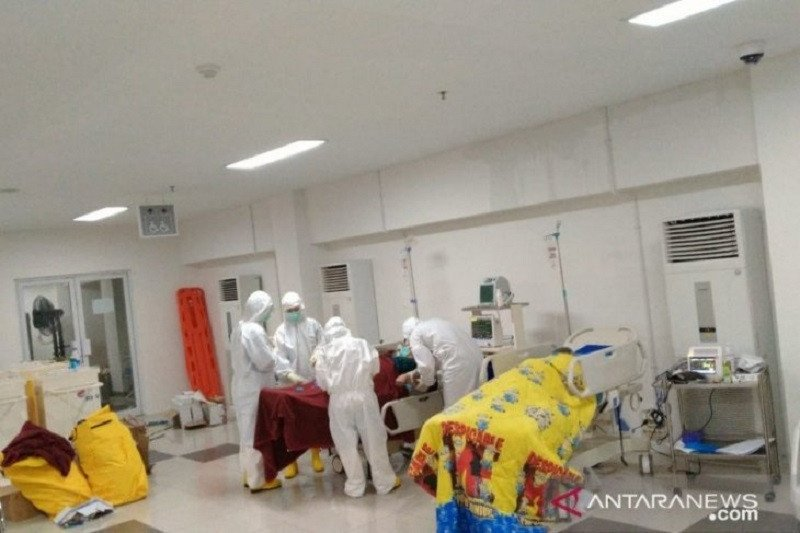 Rumah Sakit Darurat Wisma Atlet rawat 127 orang pasien positif virus corona