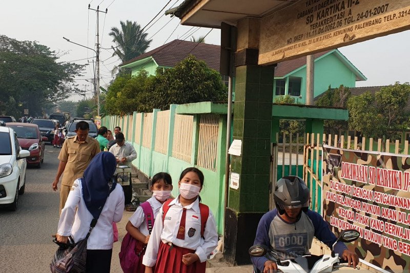 Dinas Pendidikan Palembang pantau  kegiatan belajar di rumah