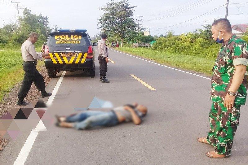 Pegawai honorer asal Seruyan ditemukan tewas di ruas lingkar utara Sampit