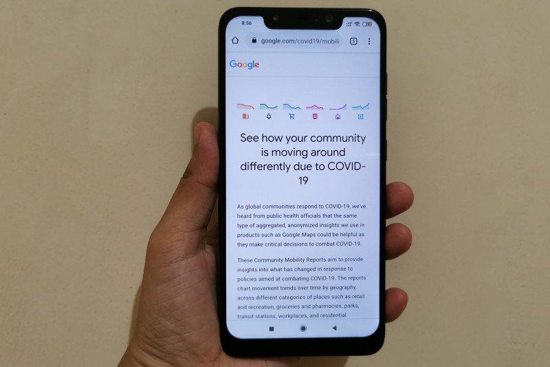 Google luncurkan Community Mobility Reports tinjau aktivitas manusia