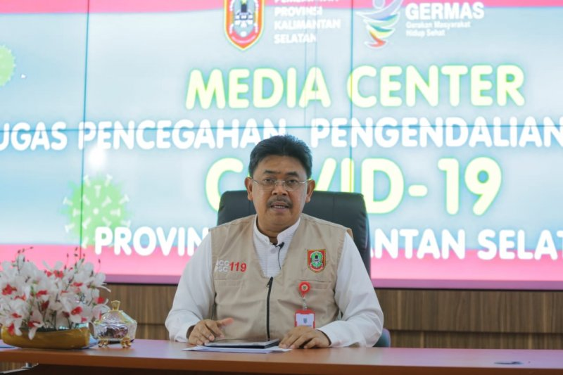 Patients positive for COVID-19 infected on average from outside S Kalimantan