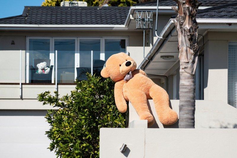 "Warga Selandia Baru saling mendukung selama karantina lewat ""Teddy Bear"""
