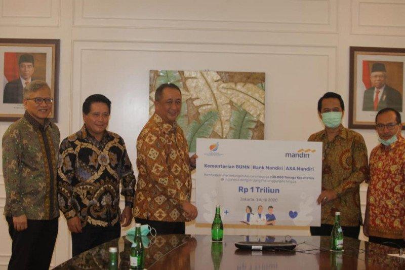 AXA Mandiri-Bank Mandiri sediakan proteksi jiwa 35 ribu tenaga kesehatan