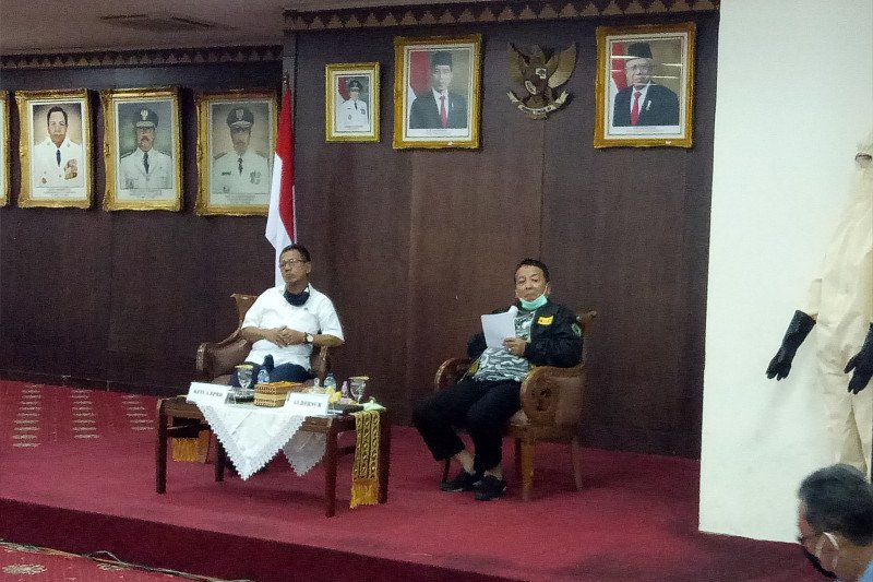 Gubernur Lampung larang ASN berkeliaran di luar kantor cegah COVID-19