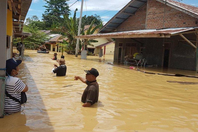 Empat desa terendam banjir di Kabupaten Paser Kaltim