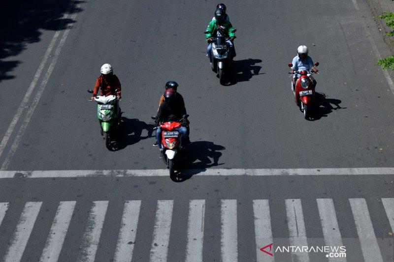 Volume kendaraan di Makassar menurun akibat dampak pandemi COVID-19