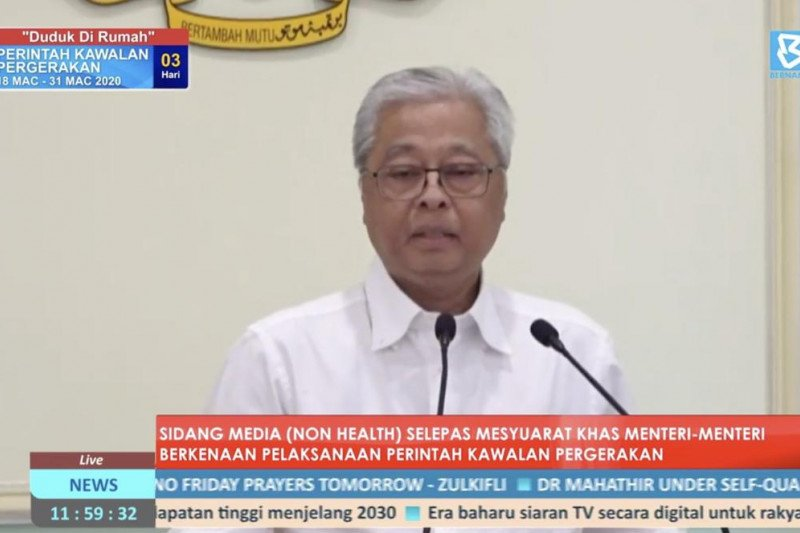 Malaysia tangkap 6.048 orang yang melanggar isolasi