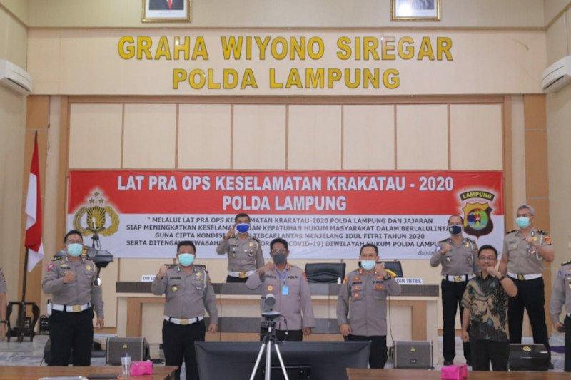 Polda Lampung gelar Operasi Keselamatan Krakatau 2020
