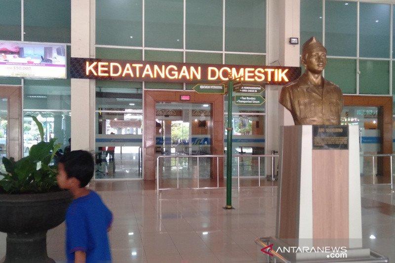 Jumlah penumpang pesawat di Bandara Adi Soemarmo turun dratis