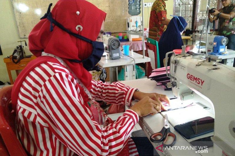 BLK di Sumbar produksi 10 ribu masker dan bakal dibagikan ke masyarakat