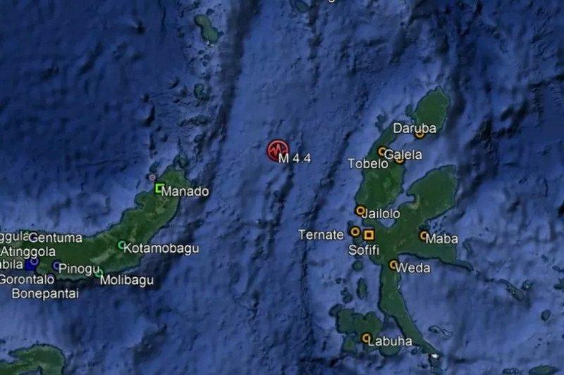Gempa magnitudo 5,7 mengguncang Halmahera Barat