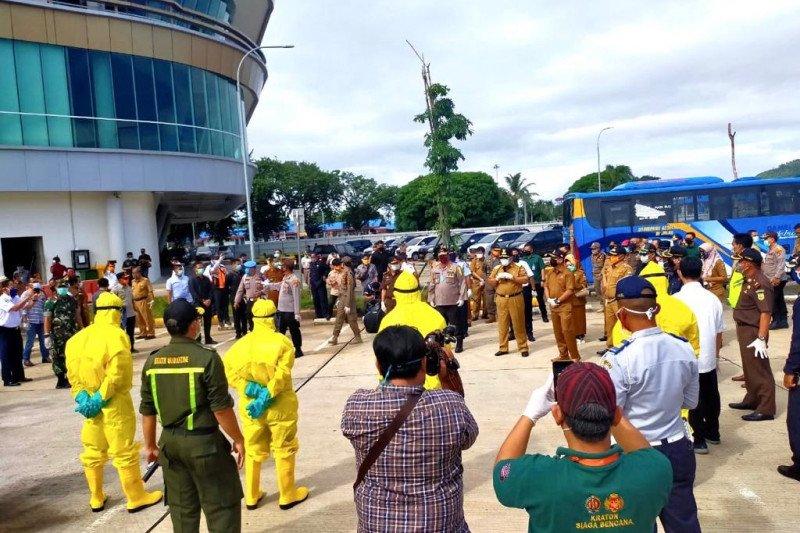 Gubernur Lampung pantau Pelabuhan Bakauheni antisipasi penyebaran COVID-19