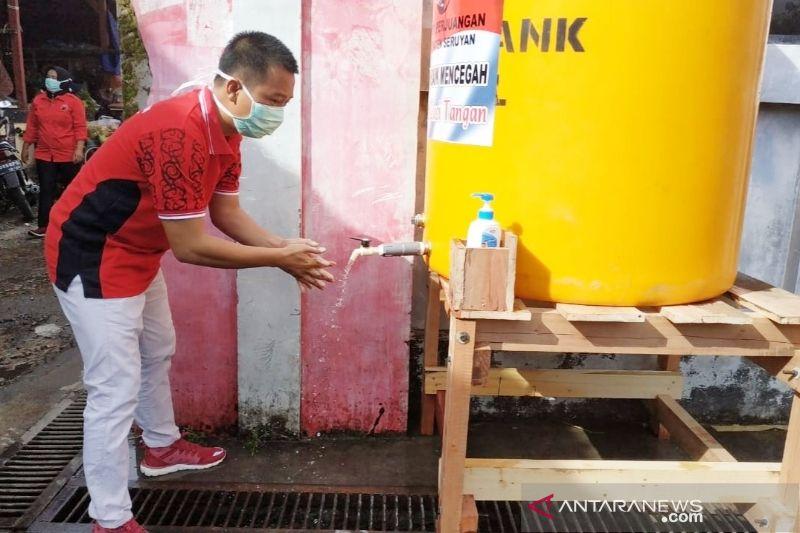 PDIP Seruyan edukasi masyarakat membiasakan cuci tangan cegah COVID-19