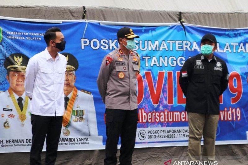 Polda Sumsel kerahkan personel atasi kekurangan stok darah PMI