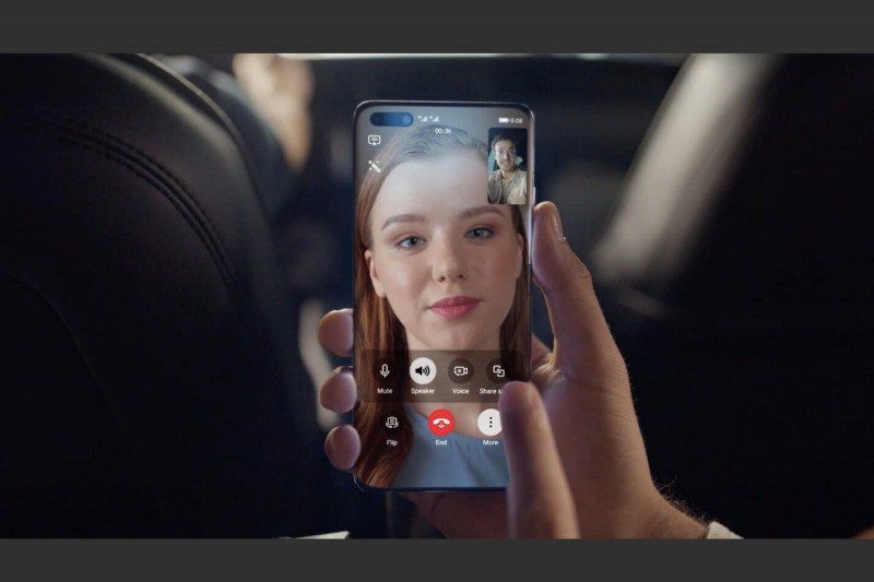 """Ponsel Huawei siapkan aplikasi panggilan video """"MeeTime"""""""