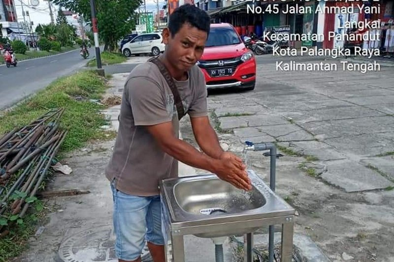Pemkot pasang fasilitas cuci tangan di 100 lokasi