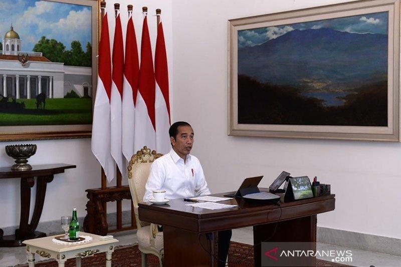 Presiden ingatkan pencairan bantuan sosial COVID-19 agar tepat sasaran