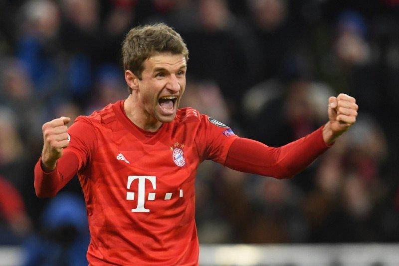 Lewati 500 penampilan, Mueller masih perpanjang kontrak di Bayern sampai 2023