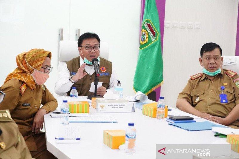 Persediaan sembako di Sumatera Selatan cukup hingga enam bulan