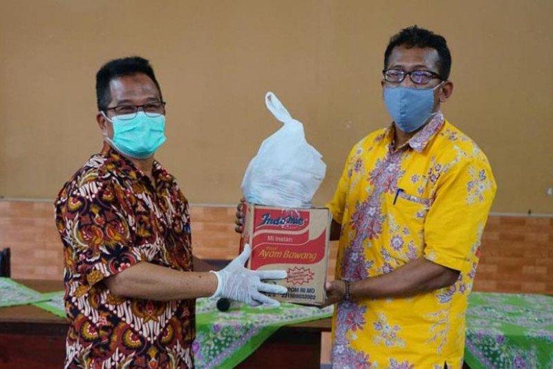 Forum TJLSP Kota Magelang bantu sembako untuk ODP COVID-19