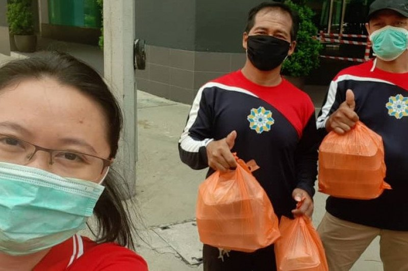 WNI asal Batam di Malaysia kirim 25 nasi kotak gratis per hari ke TKI