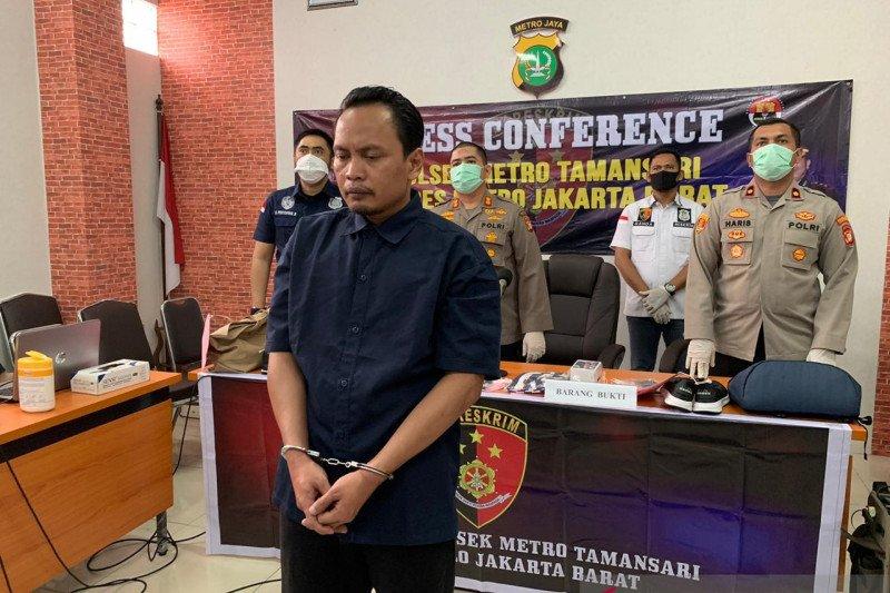 Polisi ringkus pencuri dengan membius korban di Tamansari Jakarta
