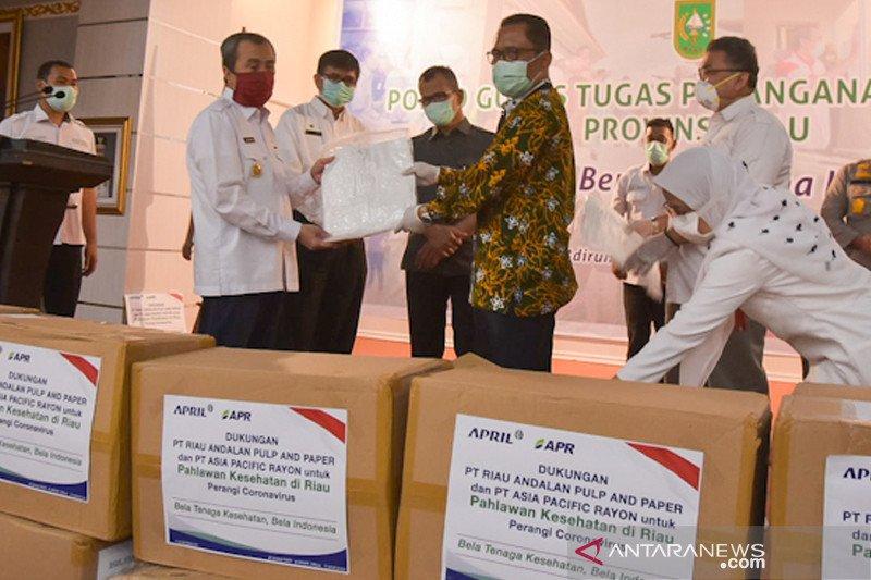 RAPP dan APR donasikan 315.450 APD untuk tenaga medis Riau, begini penjelasannya